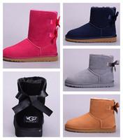 2020 أحذية مصمم أستراليا إمرأة بنت حذاء الثلوج الكلاسيكية بووتي الكاحل القوس القصير التمهيد الفراء لحجم الشتاء الأسود كستنائي الأزياء 35-44 # 53
