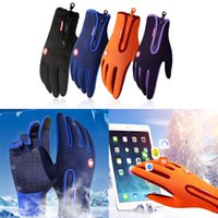 Touch Screen Snowboard Ski Gloves Winter Warm Windproof Ridi...