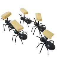 12 Adet / takım Mini Karınca Meyve Çatal Çatal Plastik Kek Tatlı Forks Gıda Seçim Sofra Partisi Dekorasyon Için ücretsiz shiping