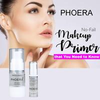 Phoera Liquid 메이크업 얼굴 프라이머 부드러운 모이스처 라이저 컨실러 모공 얼굴 프라이머 메이크업베이스 Maquiagem 완벽한 마침 매트