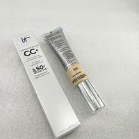Alta qualidade! CC creme fundação composição cosmética cremes ocultador cara iniciador fundação marca maquillage composição média / luz.