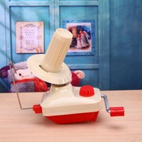 Tricô Máquina Handheld Yarn Winder Fiber a corda Linha corda manual de lã Winder Costura Acessórios Drop Shipping