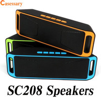 SC208 Mini Portable Bluetooth Speakers Wireless Speaker Loud...