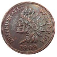 米国(07)ホーボニッケル1909インディアンセントペニー頭蓋骨スケルトンゾンビコピーコインペンダントアクセサリーコイン