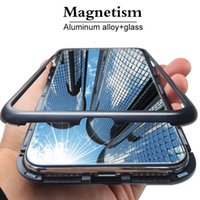 Cell Phone Cases For IPhone XS MAX XR 6 7 8 X Luxury Magneti...