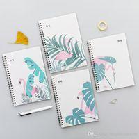 Spiralspulen Tragbare Notebook Student Briefpapier Büro Memo Pad Mini Trompete Tasche Notizblock Reisejournal Buch Schule DBC BH1497