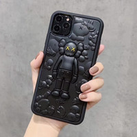 For iPhone 11 11pro max 7 8 plus 3D Silicone Fashion Phone C...