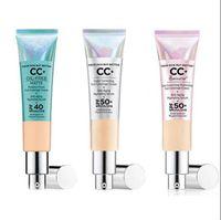 IT CC + كريم بشرتك ولكن أفضل لون تصحيح القشدة التغطية الكاملة المضادة للشيخوخة ترطيب الأساس SPF 50+
