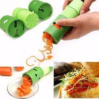 Criativa Fruit Dispositivo de Processamento Vegetal Veggie Twister vegetal cortador Slicer Fácil Guarnição de cozinha utensílio Garnishes