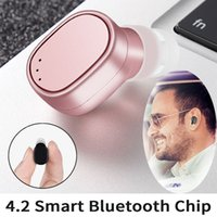 Mini Bluetooth Earbud única orelha sem fio Bluetooth Headset com carregador USB Magnetic para celular Meeting Driving