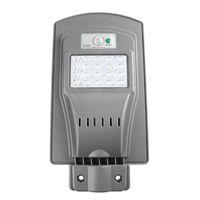 LED 20W 40W 태양 레이더 센서 라이트 컨트롤 월스트리트 빛 실외 벽 램프 보안 스팟 조명 방수