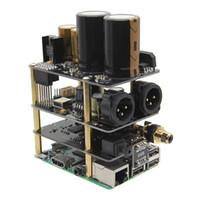 Kit de audio de alta fidelidad Raspberry Pi X20-XLR (placa X20-XLR ES9028Q2M + placa X10-I2S + placa de fuente de alimentación X10-PWR)