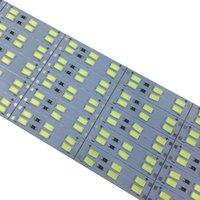صف مزدوج 5630 5730 جامدة LED قطاع DC 12 V 1M LED قطاع الإضاءة مصباح 144 بقيادة / M على ضوء الإعلان