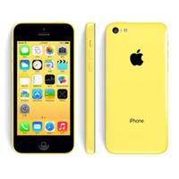 ابل اي فون 5C iPhone5C مع بصمة 1GB RAM 16GB / 32GB ROM IOS 8 4.0 بوصة 3G WCDMA GPS بلوتوث الهاتف المحمول الأصلي مجدد