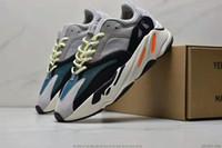2020 zapatillas deportivas para hombre 2 inercia estática malva Kanye 002West Wave Runner zapato atlético Formadores deporte zapatillas de deporte de las mujeres al aire libre Correr