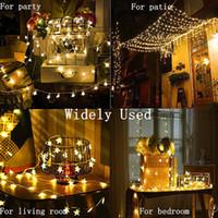 3M 20 LED 스타 모양의 LED 요정 문자열 조명 배터리 작동 휴일 크리스마스 파티 웨딩 장식