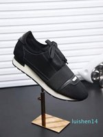 DESIGNER SHOES MENS LUXURY SHOES 2019 НОВЫЙ БРЕНД ДЕШЕВЫЕ КВАРТИРЫ FASHION САЛАЗКИ RACER CASUAL SHOES WOMENS l14