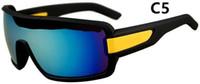 Yeni Moda Renkli Popüler Rüzgar Bisiklet Ayna Spor Açık Gözlük Gözlük Güneş Gözlüğü Kadın Erkek Güneş Gözlüğü ücretsiz gemi Için 7936