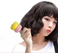 2 adet / takım DIY Uyku Güzellik Mantarlar Sihirli Silindirler Sevgiliye Dalga Curlers Saç Bakımı Şekillendirici Araçları HA067