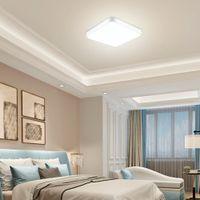 Luzes LED Teto Quarto Moderno Minimalista Nórdico Quadrado Quadrado Sala de Correia Aisle Iluminação
