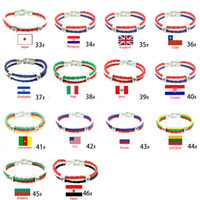 Bracelets Jewelry Russia World National Flags Souvenir World...