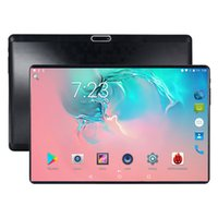 Tablet da 10 pollici Android 8.0 8 Core 64GB Dual Camera Dual SIM Tablet PC 1280 * 800 WIFI OTG GPS telefono bluetooth 4G il tablet pc