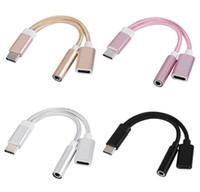 2 삼성 S8 주 8 LG의 휴대폰 충전 케이블 3.5mm의 이어폰 보조 잭 오디오 어댑터의 USB C 분배기 1 이어폰 어댑터 종류-C에서