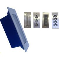 (5pcs / lot) 3w 110 mm Recessed Led 층 조명 85-265V 따뜻한 화이트 내장 방수 Led 벽 코너 램프 단계 조명