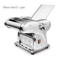 Edelstahl kommerzieller Hausgebrauch elektrische Nudelmaschine, Nudelwalzmaschine, Knödel Haut Walzmaschine Nudelmaschine