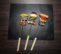 Neue Ankunfts-bewegliches im Freien Picknick Kochen Barbecue-Werkzeug 33 * 40cm Non-Stick wiederverwendbaren BBQ-Grill-Matten-Auflage Backblech Meshes