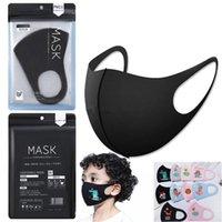 Hazır toz geçirmez anti-bakteriyel Yıkanabilir Yeniden kullanılabilir Sünger FaceIn Stok önleyici toz Yüz olarak ağız kapak PM 2.5 Anti-toz Ağız Maske EEA1533 Maske