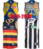 2019 West Coast Eagles Guernsey Adelaide Grows Collingwood Magpies Home Eddie Betts 300-я без рукавов Лучшее качество AFL Джерси