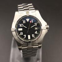 Fabrik Top Sale Automatische Herren Qualitätsuhren Super Ocean Black Dial L316 Edelstahlband Mechanical 44mm Armbanduhr Freies Shiping