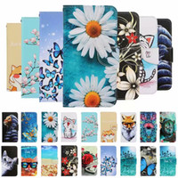 Flower Butterfly cat Dreamcatcher Holder Flip Leather Wift Case for Samsung NOTE 10 S10 S20 PLUS S20 Ultra 51 A10 A20 A30 A40 A50 A70