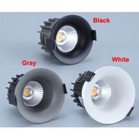 5w 7w 10w 조명 높은 품질의 COB LED 다운 슈퍼 밝은 함몰 천장 AC 85-265V 천장 조명기구를 LED 램프 다운 라이트