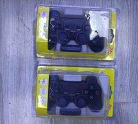 Dispositivos de juego al por mayor de mando analógico inalámbrico 2.4G doble vibración compatibles para PS2 PS1 PSX con el paquete al por menor