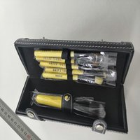 أدوات ماكياج بوبى واحد استحى مجموعة ماكياج مجموعات فرشاة الصوف رئيس فرشاة خشبية مقبض اسطوانة 9PCS / مجموعة أدوات ماكياج