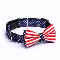 5 pieces lot Wholesale Dog Collars Adjustable Pet Neck Colla...