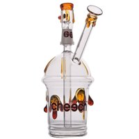 8. 7 Ins Small Mini Cup Heady Glass Water Bong Glass Oil Rigs...