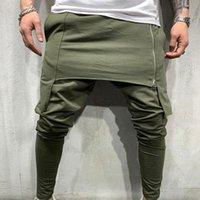 Mode Vêtements pour hommes Style gothique Pantalons simple sport athlétique Tenue Hiphop Pantalons Homme solide Couleur Slim Fit Joggers Pour Hombre