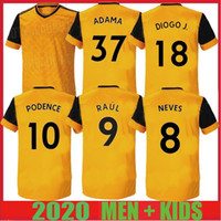 20 21 Nouveau RAUL NEVES Maillots de football Podence ADAMA adultes enfants 2020 Wolverhampton Wanderers Football chemises Doherty DIOGO J de foot Maillots