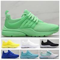 Yeni En İyi Kalite Prestos 5 V Koşu Ayakkabıları Erkek Kadın 2019 Presto Ultra TP QS Sarı Pembe Siyah Oreo Açık Spor Moda Sneakers 36-46