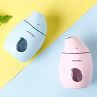 Désodorisant Mango Humidificateur Diffuseur USB à ultrasons portable avec LED humidificateurs Purificateur d'air Brumisateur