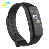 Vitog C1S Fitness Armband Smart Watch Wasserdichte Smart Armband Herzfrequenz Monitor Gesundheit Tracker Armband für Sport Pk M4 M3