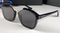 Designer-2019 Nouveau créateur de mode sunglasse Lunettes de protection abstraites monture de lunettes de soleil de protection uv400 de haute qualité