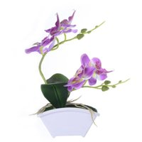 Fake Plant Moth Orchid Plastic Simulation Flower Artificial ...