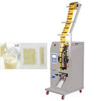 400 W Özelleştirilebilir Otomatik Sıvı Paketleme Makinesi Baharat Su Yağı Sirke İçecek Saf Sıvı Dolum ve Yapıştırma Makinesi