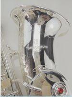 Новое поступление Yanagisawa Alto Eb Tune Saxophone Марка Качество Посеребренная Латунь Саксофон Западная Музыкальные Инструменты Саксофон С Мундштуком Case