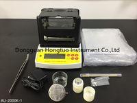 AU-2000K Профессиональный электронный тестер чистоты золота Цифровой измеритель плотности золота Карат анализатор чистоты с хорошим качеством