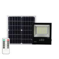 Reflector solar del césped enciende la lámpara de pared Foco 100W al aire libre luces de inundación IP65 luz de inundación accionada solar del exterior de inundación